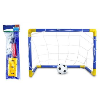 Football Goal Toy Set Kids Soccer Pool for Toddler Boys and Girls 3+ Ball - discount item  17% OFF Outdoor Fun & Sports