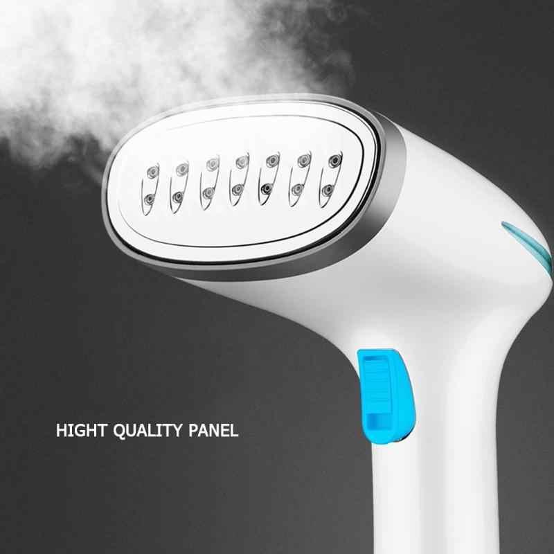 1500W Luz Indicadora de Vapores de Vestuário Handheld Steamer com Ferros A Vapor Escova de Ferro com Escovas de Ferros A Vapor de Ferro