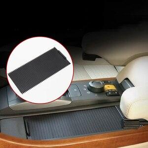Image 1 - Estilo interior do carro center console deslizante estores copo titular rolo cego capa para land rover range rover sport 2005 2009