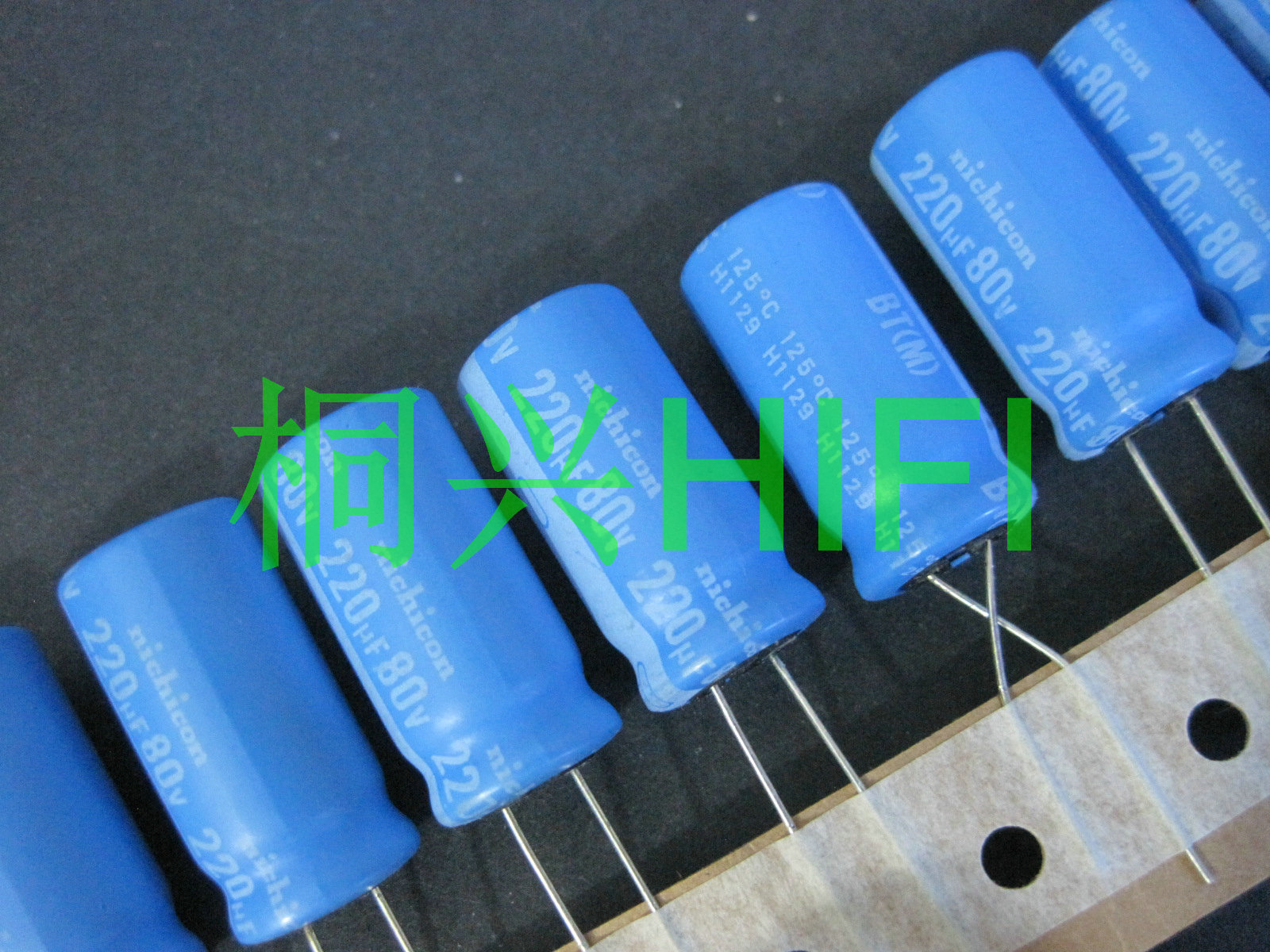 20pcs NICHICON BT 80V220UF 12.5X25MM Electrolytic Capacitor Bt 125 Degrees 220uF/80v Military Industrial Capacitor 220UF 80V