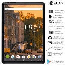 Bdf 2021 novo tablet pc 10 Polegada tablet android 9.0 octa núcleo 2gb/32gb 4g lte chamada de telefone gps google play 1280*800 ips comprimidos 10.1