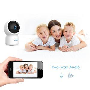 Image 4 - 1080P HD YCC365 Plus kamera IP WiFi automatyczne śledzenie człowieka Mini kamera wi fi kryty PTZ bezpieczeństwo w domu kamery niania elektroniczna Baby Monitor