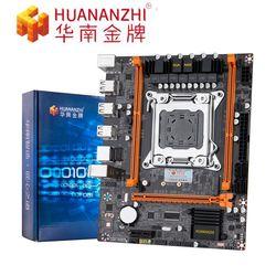 Huanan zhi X79 4M płyta główna pulpitu Intel C602 X79 LGA 2011 E5 ECC/REG DDR3 1333/1600/1866MHz 32GB M.2 USB2.0 płyty głównej płyta główna Płyty główne Komputer i biuro -