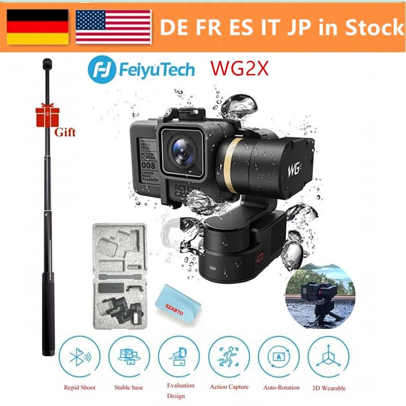 FeiyuTech WG2X 3 Axis Stabilizer Wearable Splashproof Gimbal,For GoPro Hero7/6/5 Session 4/5 Yi 4K /AEE SJCAM Action Camera