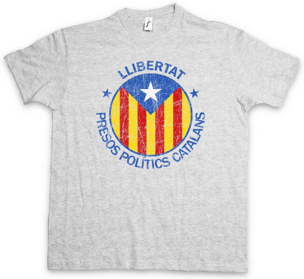 Llibertat Catalonia เสื้อยืด Freedom ฟรี Viva La Revolution Independence