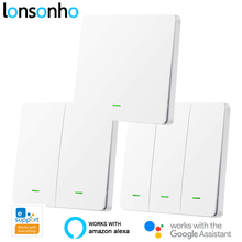 Lonsonho eWeLink RF Wifi Smart Switch UK Push Button Smart H