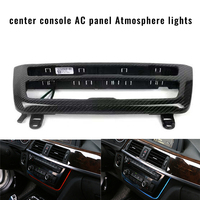 Car stereo Fascia Console Decoration Lamps Orange Blue Color Switchable Atmosphere for BMW 3 4 series F30