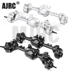 G2 алюминиевые передние и задние мостовые оси Ackermann GAX0121AFB/AFS для 1/10 Traxxas TRX-4 Defender #82056-4 TRX4 Bronco