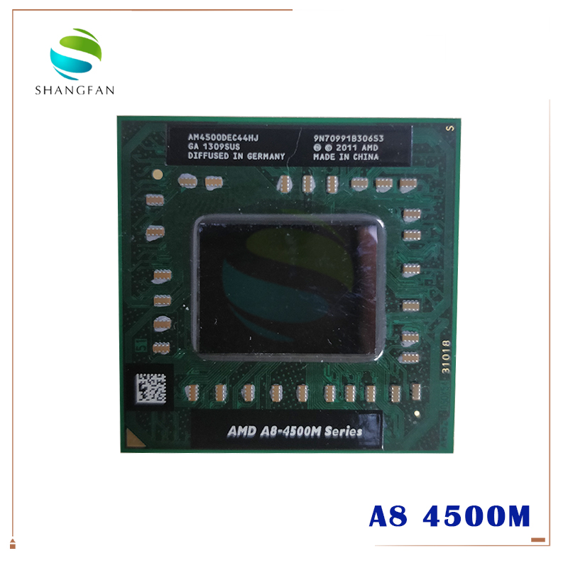 AMD A8-Series A8 4500 м AM4500DEC44HJ ноутбук Процессор 4 ядра A8-4500M 1,9 г разъем FS1(FS1R2) (аналог и продажа a10 4600 м 5500 м)