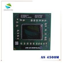 AMD A8 Series A8 4500M AM4500DEC44HJ CPU del computer portatile Quad Core A8 4500M 1.9G Presa FS1 (simile e vendita a10 4600m 5500m)