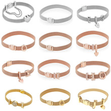 Fashionable Belt Design Pure 925 Sterling Silver Fine Jewelry Bracelet Top Quality 10mm Watch Chain For Woman Man Gift