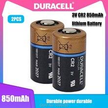 2PCS Original Duracell CR2 CR15H270 CR15266 3V 850mah Bateria De Lítio Para Câmera Digital Visão Noturna Primária Seca Da Bateria do Medidor