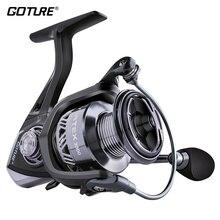 Goture Carp Fishing Reel Carbon Spinning Reels 10BB 6.2:1 High Speed 15kg Max Drag Lightweight Wheel for Freshwater Saltwater