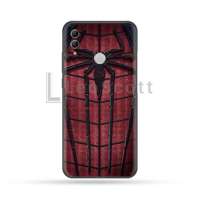 Marvel Superhero Spiderman Copertura Della Cassa Del Telefono Per Huawei Honor vista 7a5.45inch 7c5.7inch 8x 8a 8c 9 9x10 20 10i 20i lite pro