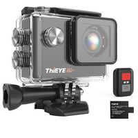 ThiEYE i60+ 4K 30fps Full HD WiFi Remote Control Action Camera 60M Waterproof Sports video Camera 170 Degree Wide-angle cam