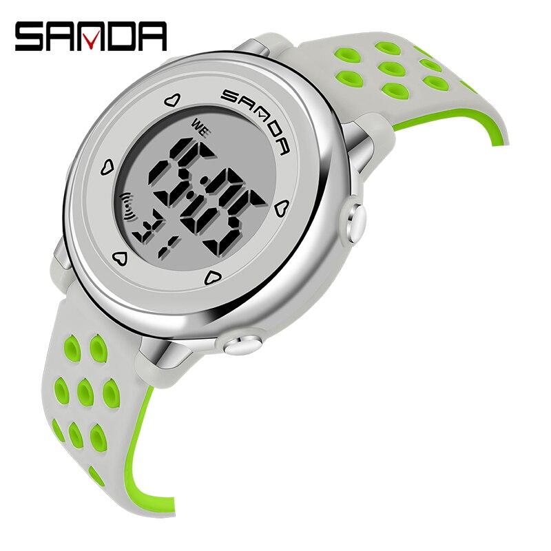 Fashion SANDA Children Watch Sport Student Kids Watches Boys Girls Clock Gift Child Led Digital Electronic Boy Girl Wristwatch