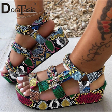 DORATASIA Big Size 34-44 Luxury Brand Lady Summer Gladiator Sandals