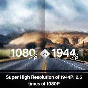 70mai Smart Dash Cam Pro anglais commande vocale 1944P 70MAI voiture DVR caméra GPS ADAS 140FOV Auto Vision nocturne 24H moniteur de stationnement 2