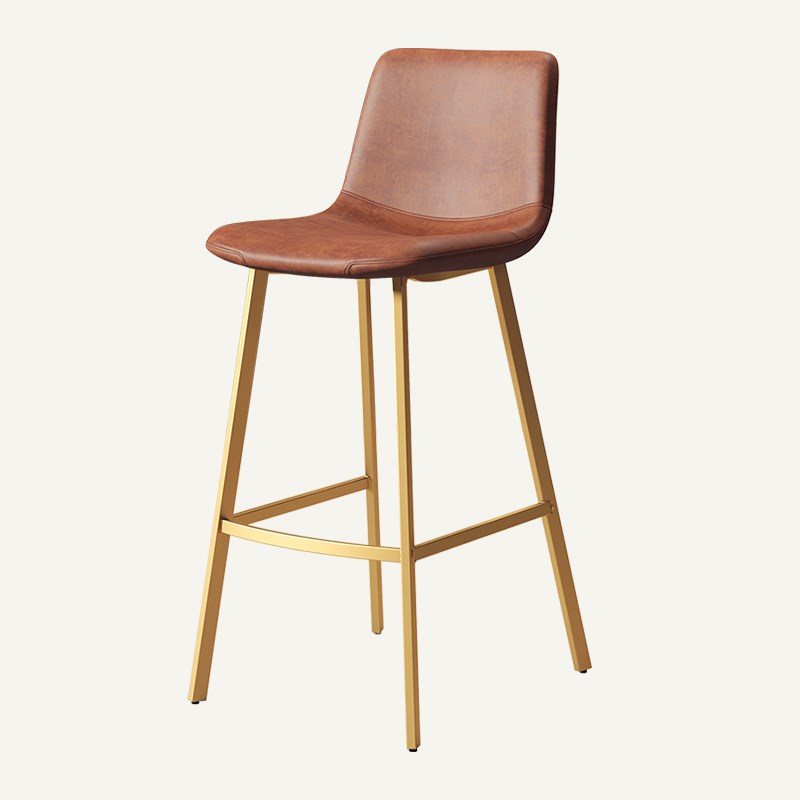 Nordic Bar Chair Iron High Stool Creative Home Modern Simple Bar Stool Leisure Coffee Bar Chair