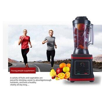 Hochleistungsmixer   BPA FREI Heavy Duty Kommerziellen Grade Mixer Mixer Entsafter High Power Küchenmaschine Eis Smoothie Bar Obst Mixer