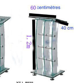 Hot SellingClear Perspex Dails, Acrylic Organic Glass Church Pulpit Lectern