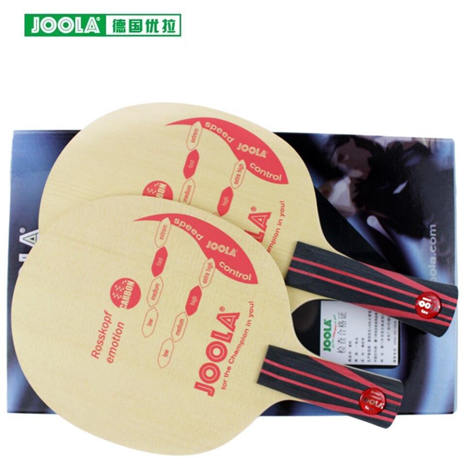 JOOLA Jorg rossopf лезвие для настольного тенниса (7 слоев дерева, петля и контроль) ракетка для пинг понга летучая мышь для тенниса De Mesa Paddle