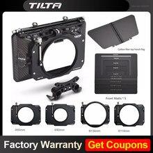 Tilta MB-T12 4*5.65 lekkie matowe pudełko z włókna węglowego (zacisk) 15mm Adapter pręta do 5D4 RED ARRI SONY ramka do kamery DSLR Rig
