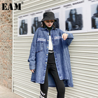 [EAM] Loose Fit Blue...