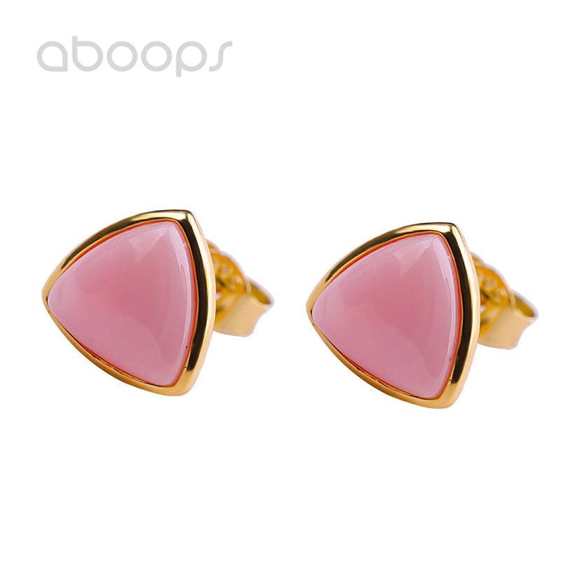 925 boucles d'oreilles en argent Sterling rose pour femmes filles livraison gratuite