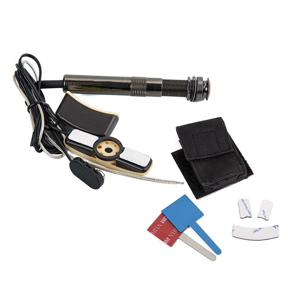 Guitare acoustique trou sonore pick-up Instrument de musique accessoire Portable pour les mélomanes FK88