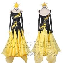 Wyprzedaż yellow ballroom dress Kupuj w niskich cenach
