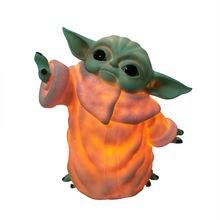 6 дюймов йода фигурка малыша с светильник принтом «the force