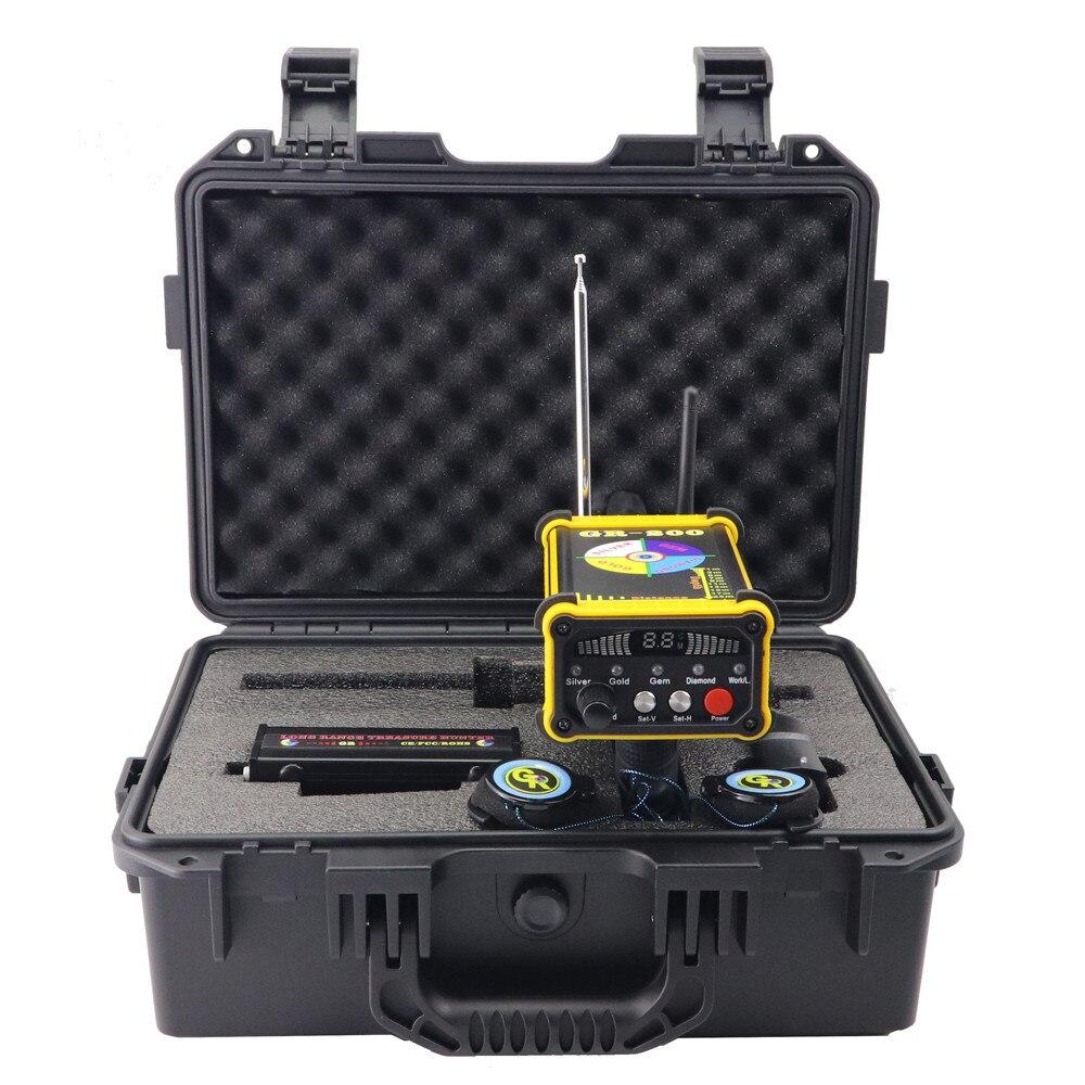 Détecteur de métaux souterrain GR-200 détecteur de pierres précieuses en argent or longue portée - 3