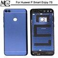 Новый чехол для аккумулятора Huawei P Smart Enjoy 7S  запасные части  задняя крышка аккумулятора  задняя металлическая крышка  корпус двери  объектив ...