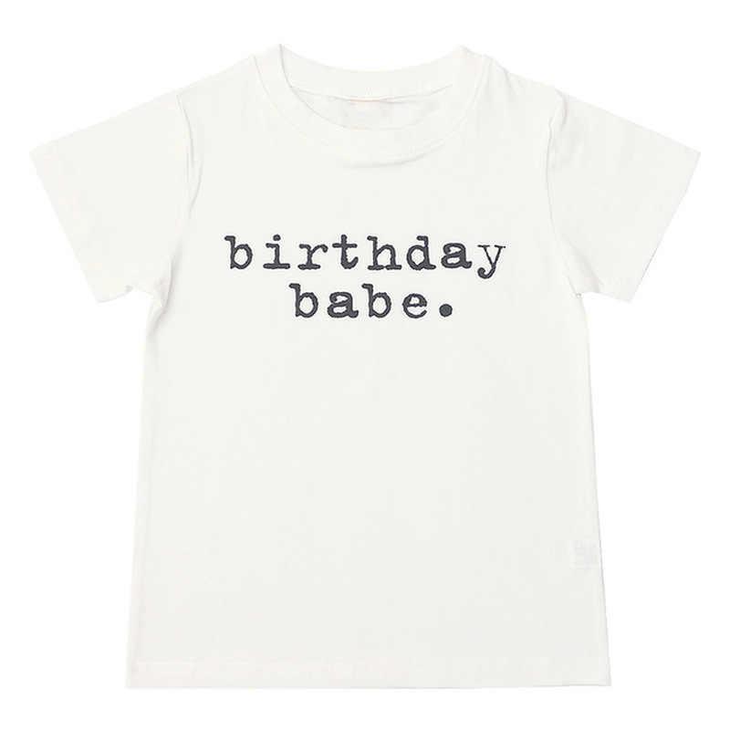 Babyinstar Zomer T-shirt Zachte Kinderkleding Baby Ijs Patroon Casual Meisje Tops & T-shirts Voor Jongens Baby Boy kleding