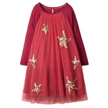 Girl Dress Long Sleeve Christmas Dress Baby Girls Clothes Autumn Winter Kids Party Dresses for Girls Costume Princess Dress