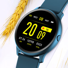 Ini Pria Smart Watch Pria Heart Rate Tekanan Darah Monitor Smartwatch Kontrol Pemutaran Musik Sport Watch Relogio Inteligente(China)