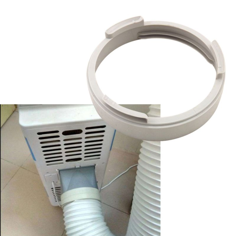 Portable Air Conditioning Body Exhaust Duct Interface ABS Home Mobile Air Conditioner Parts Exhaust Pipe Connector