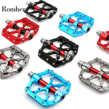 High Quality Utral Sealed Bicycle Pedals Aluminum Body For Road Cycling MTB Bicycle Pedal Bearing Outdoor Cycling Accessories
