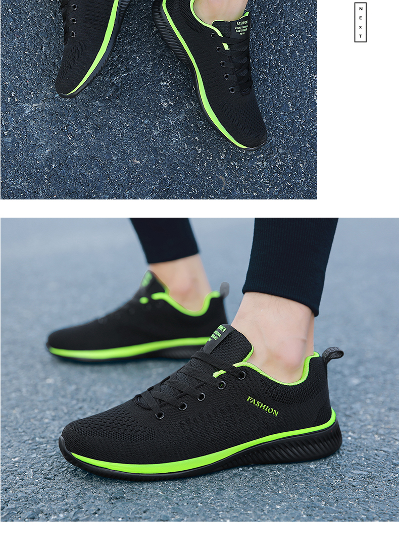 H26850fbc52b341ed844921c576d79906J New Mesh Men Casual Shoes Lac-up Men Shoes Lightweight Comfortable Breathable Walking Sneakers Tenis masculino Zapatillas Hombre