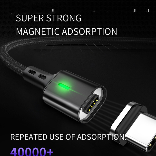 LED Magnetic USB Cable for iPhone.