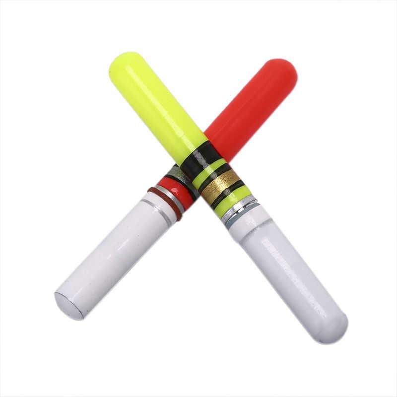1Pc Led Licht Stick Voor Fishing Float Met Batterij Tube Night Visgerei Lichtgevende Elektronische Vlotter Led Elektrische Vlotter
