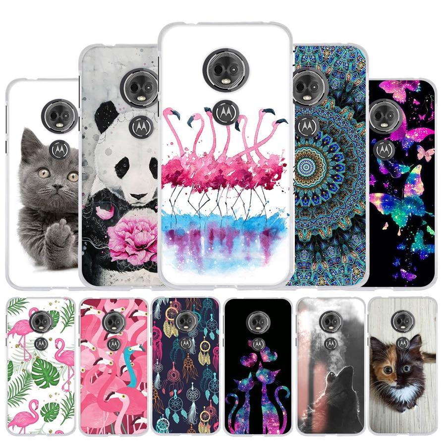 For Moto E5 Case Silicone Cover For Motorola Moto G6 Play Case Cute Phone Capa For Motorola Moto E5 E 5 (5th Gen.) Back Cover