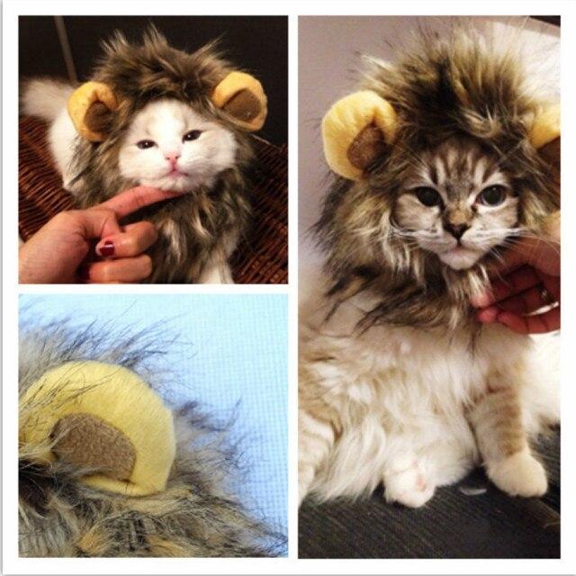 Kitten/Puppy Costume Lion Mane Wig  2