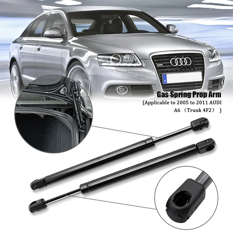 2 REAR TRUNK LID LIFT SUPPORTS SHOCKS STRUTS ARMS ROD DAMPER WITH SPOILER