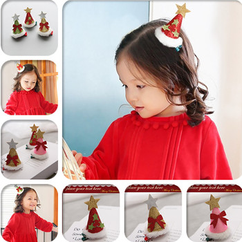 Шляпа Мужская Fedoras Christmas Fashion Children's Hairpin Christmas Hat Hairpin Boutiqu