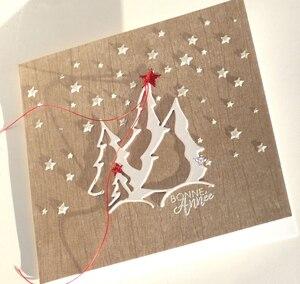 Image 4 - 貯金箱金属切削ダイスカット金型クリスマスツリー装飾スクラップブック紙クラフトナイフ金型ブレードパンチステンシルダイ