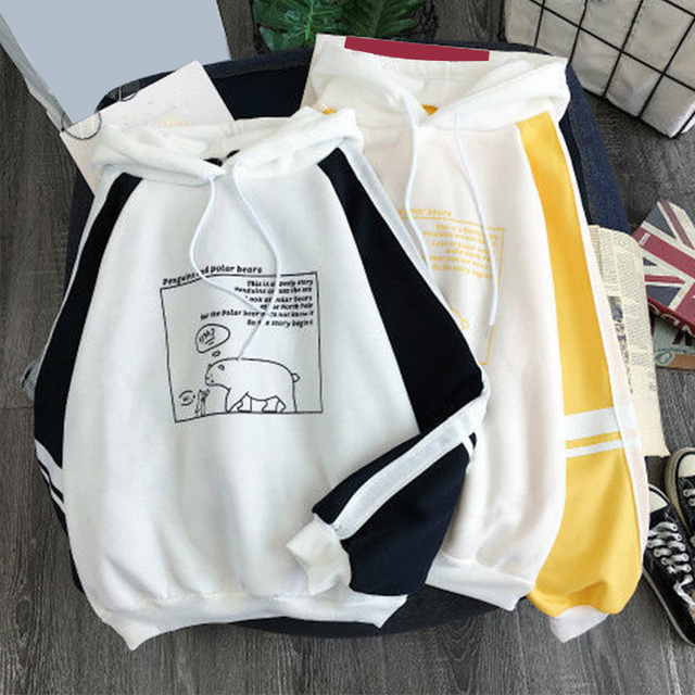 PENGUINS AND POLAR BEARS HOODIE