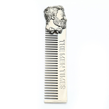 Gentleman Barber Style Stainless Steel Hair Comb