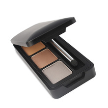 Customized Eyebrow Makeup 3 colors Private Label Waterproof Eyebrow Powder Palette